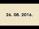 МОТОДНЕВНИК 26. 08. 2016.
