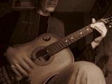 Блюз на расстроенной гитаре