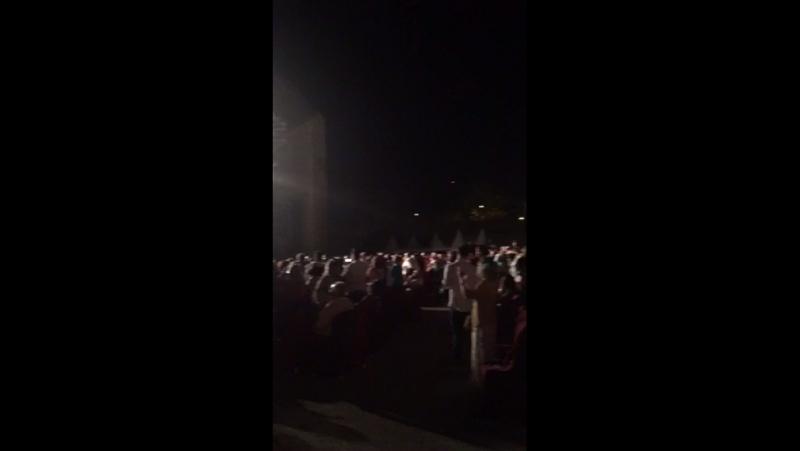 На концерте Рафаэля!