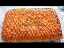 """Вязаный пирог с вареньем, рецепт с канала Ю Туб """"Valentina Zurkan""""."""