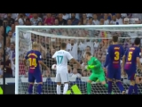 Невероятный лонгшот Асенсио (Марко Асенсио, гол, Реал Мадрид Барселона, суперкубок Испании, Барса, Тер Штеген, 2-0)