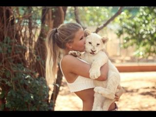 Невероятная дружба! Людей и диких животных