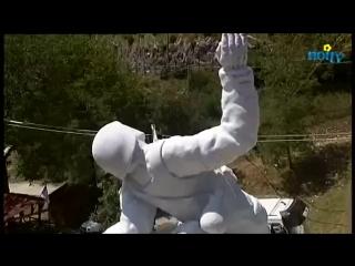 В Италии местный скульптор создал памятник в честь нашего героя Александра Прохоренко