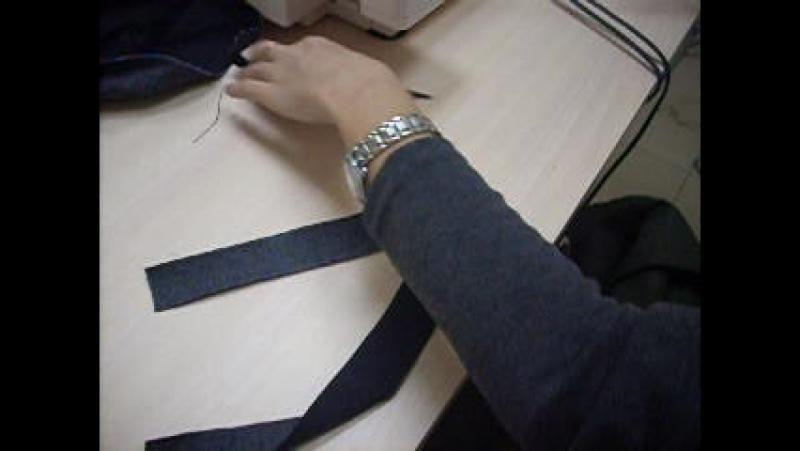 Обработка шлевки 1