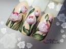 🌸Обьемный цветы на ногтях🌸3D цветы на ногтях🌸Дизайн ногтей гель лаком🌸Nail Desig