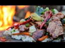 The Ultimate Stir-Fry - Cooking in the Forest - ASMR