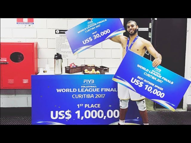 TOP 10 Crazy Actions by Earvin N'Gapeth | MVP World League 2017