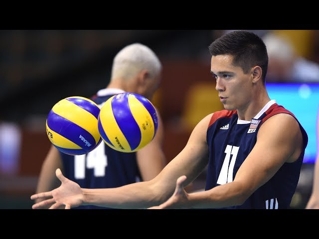 TOP 10 Best Volleyball Blocks by Micah Christenson (USA)   Volleyball best moments