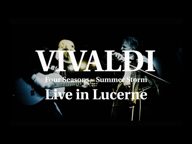 Vivaldi - For Seasons (Presto) Summer Storm : MOZART HEROES Live