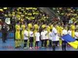 Футзал. Украина - Испания. Гимн. Палац спорта!