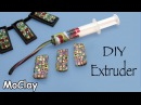 DIY craft - Make your own polymer clay extruder at home