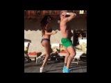 Джанлука Вакки танцует под Lx24 Скажи зачем