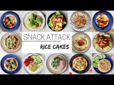 EASY VEGAN SNACKS  for after school &amp work (rice cakes part 2)