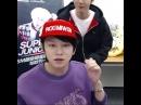 "do you hear that?? he kissed heechul on the cheek and you can literally hear it go ""chuuk"" 😭😭😭 so cute!! baby!! 😚😚😚 #baekhyun #백현 #exo"