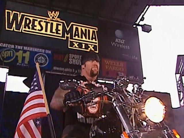 Limp Bizkit Rollin' at Wrestlemania XIX Undertaker Entrance