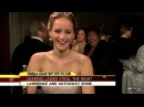 Jennifer Lawrence, Jack Nicholson Interruption Makes Waves After Oscars Anne Hathaway on Big Win
