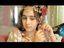 Свадьба детй цыганских баронов Фата и платье из золота