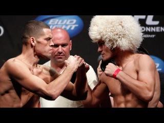 Бой Хабиб Нурмагомедов vs Нейт Диас за титул чемпиона на UFC 209