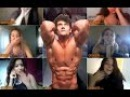 Top 10 Best Girls Reactions - Connor murphy Omegle Aesthetic Fitness Bodybuilding Motivation