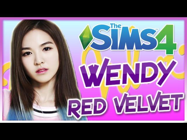 The Sims 4 : Wendy Red Velvet - Create A Sim