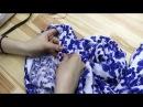 Как сшить простые брюки на резинке