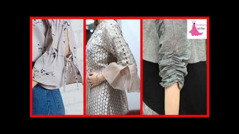 Top Beautiful Easy Sleeves Designs For Girls| Beads Sleeves/Dori Sleeves( Baju ) Designs 2017