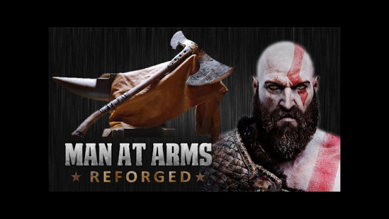 Kratos Axe - God of War - MAN AT ARMS REFORGED