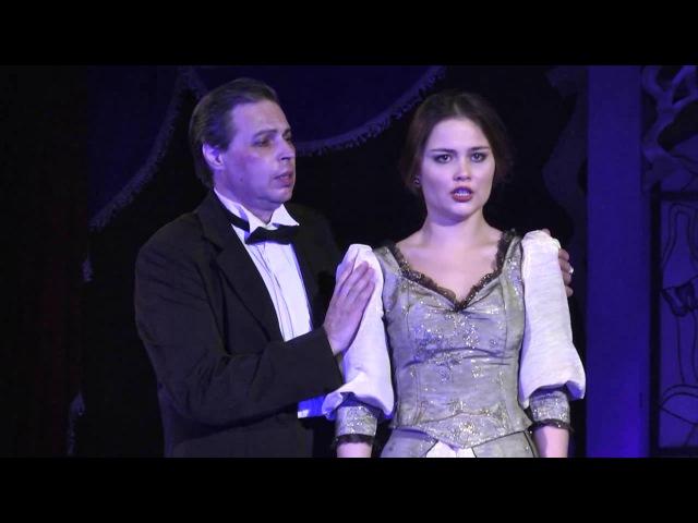 Дж Верди сцена Виолетты и Жермона II д из оперы Травиата