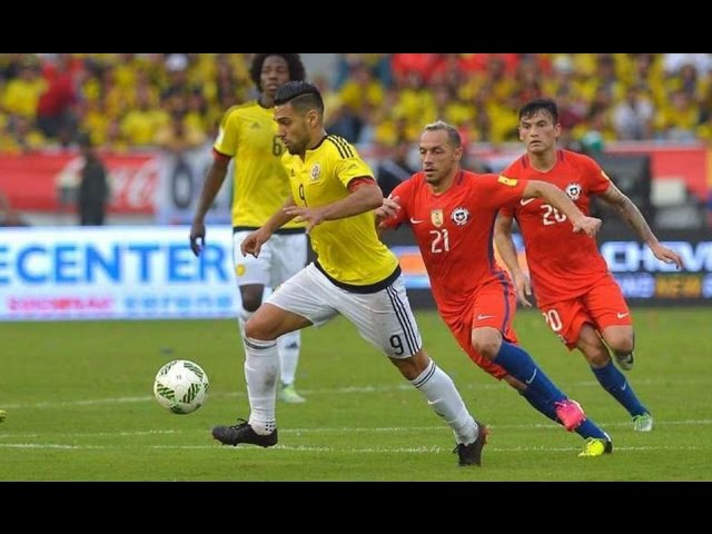 Colombia vs Chile 0-0 Resumen Eliminatorias 2016