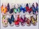 Саланные скоростные дизайн бабочки мастер класс от Юлии Билей. Часть 3.