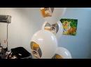 Полноцветная печать на шарах кофе Нескафе
