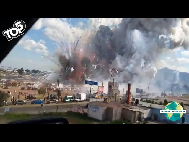 5 Huge Explosions Caught On Camera!