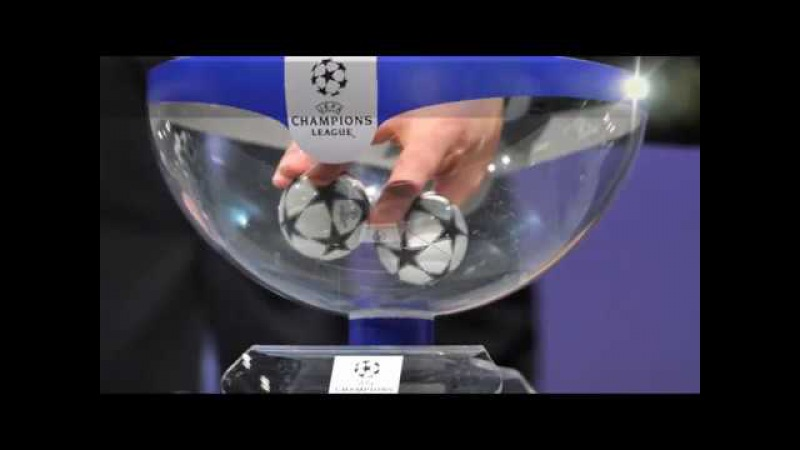 UEFA. Champions League 2017/2018. Group stage DRAW