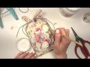 Новогодняя открытка тег Скрапбукинг мастер класс Aida Handmade