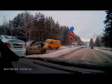 Последствия ДТП перегон, пробка до Гагарина