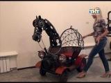 В музее Радищева открылась выставка техно-арт
