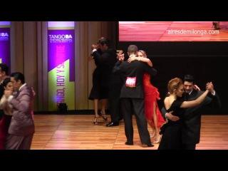 El Campeón mundial 2016 en la semifinal pista , Mudial de tango 2016 Cristian Palomo, Melisa Sacchi