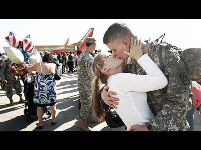 Возвращение солдат домой. Реакция родных. №2