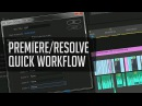 Premiere Resolve Round Trip Workflow - Color Grading Workflow Tutorial