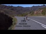 Long Downhill Skating on Powerslide Kaze Inline Skates -  Ricardo Lino in South Africa