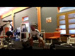 Кшиштоф Вербицкий, тяга 370 кг на 2 раза