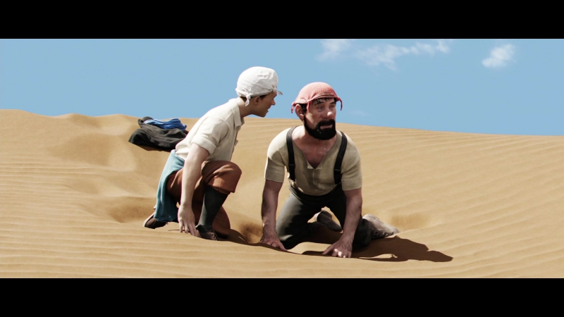 Приключения Тинтина: Тайна Единорога (2011) 1080p