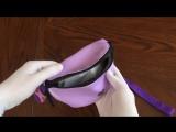 #4 Обзор товара  Поясная сумка Малая барка Глэм фиолетсирень  Цена  1190 р  Интернет-магазин STREETWEAR