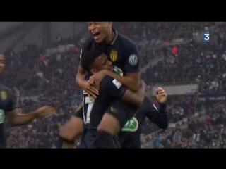 Марсель - Монако 3:4. Обзор матча. Кубок Франции 2016/17. 1/8 финала.