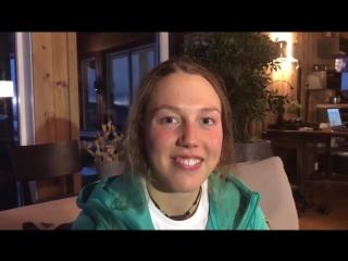 Лаура Дальмайер приглашает участвовать в турнире прогнозистов на cайте канала ARD (ноябрь 2016)