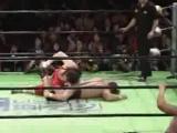 NOAH - Naomichi Marufuji, Takeshi Morishima, Takashi Sugiura vs Kenta Kobashi, Tamon Honda, Maybakh Taniguchi