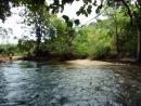Као Лак, сплав по реке на бамбуковых плотах 1