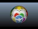Видео дизайна подарочного мяча для Всемирного фестиваля молодежи и студентов 2017