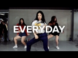1Million dance studio Everyday - Ariana Grande (Elbert Moria Remix) / Beginners Class