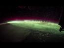 Северное сияние с борта МКС от Джека Фишера